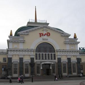 Железнодорожные вокзалы Соликамска
